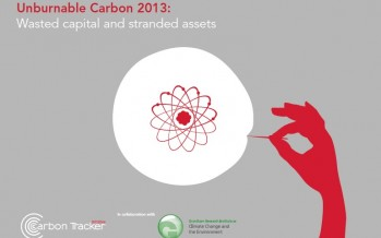 Carbon Bubble Report