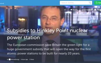 Lo Storify del via libera dell'Ue ai sussidi al nucleare britannico