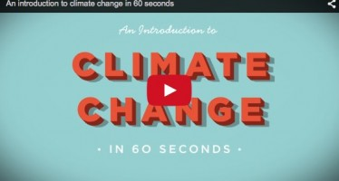 Il cambiamento climatico in un minuto
