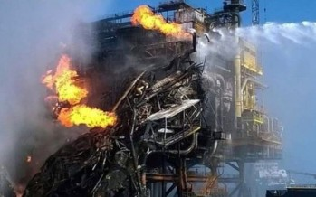 4 Killed in Explosion and Fire on Pemex Mexican Oil Platform