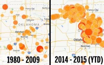 Confermato: i terremoti in Oklahoma sono causati dal fracking