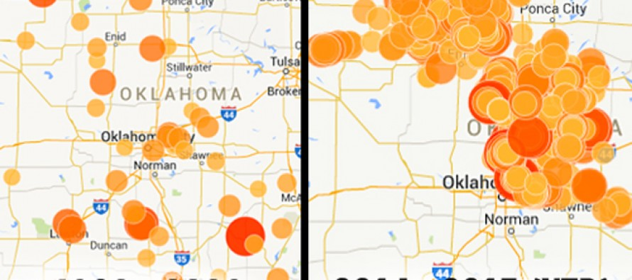 Confirmed: Oklahoma Earthquakes Caused By Fracking