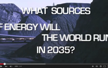 What sources of energy will the world run on in 2035?