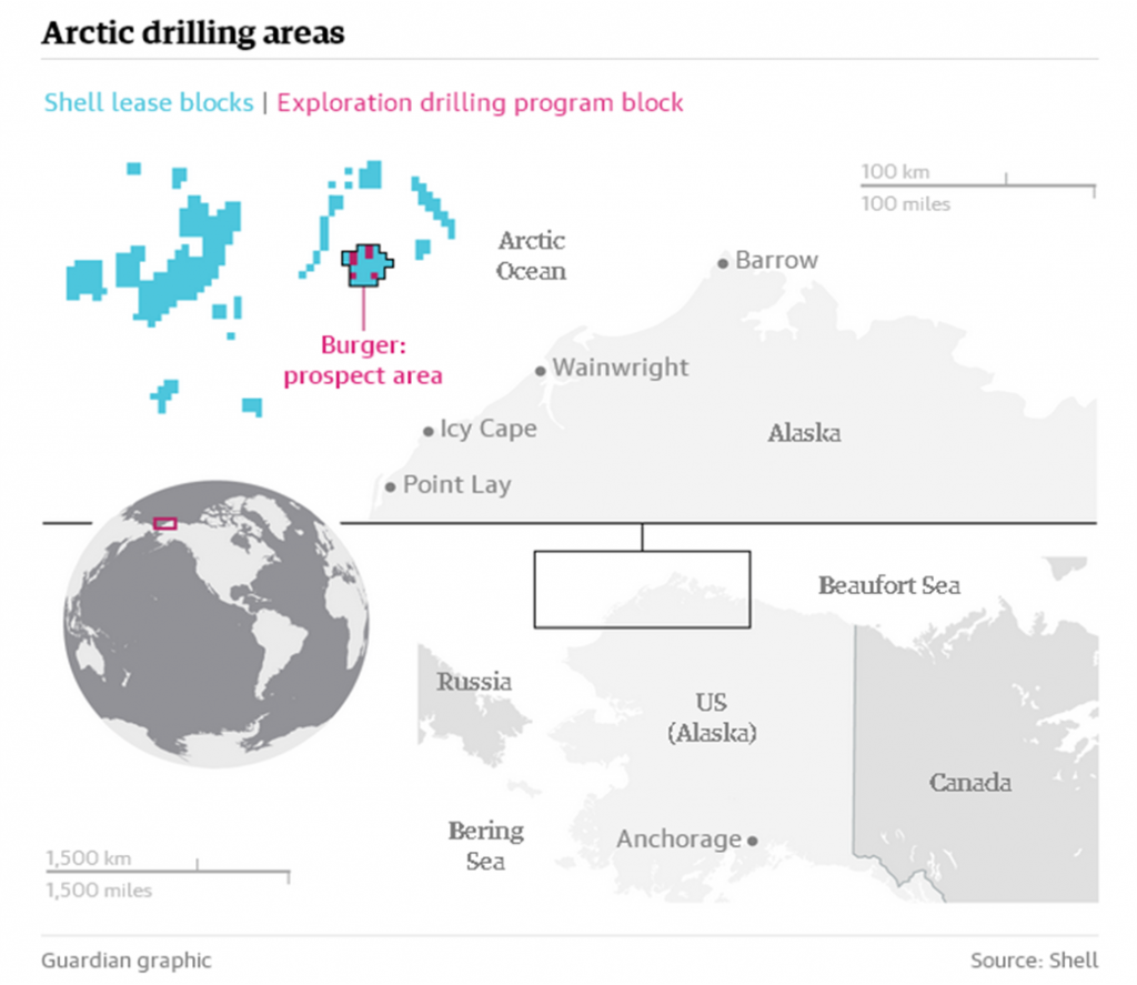 Artic drilling areas