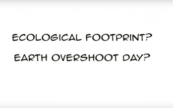 Have you heard of ecological footprint and earth overshoot day?