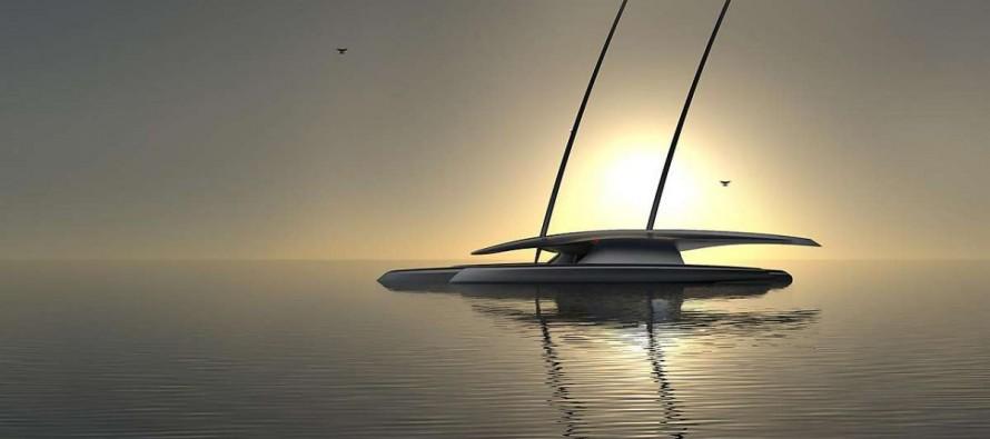 Mayflower la prima barca che attraverserà l'Atlantico senza equipaggio, alimentata con solare ed eolico