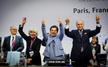 Paris climate summit closes with agreement seen as 'indirectly' boosting renewable energy