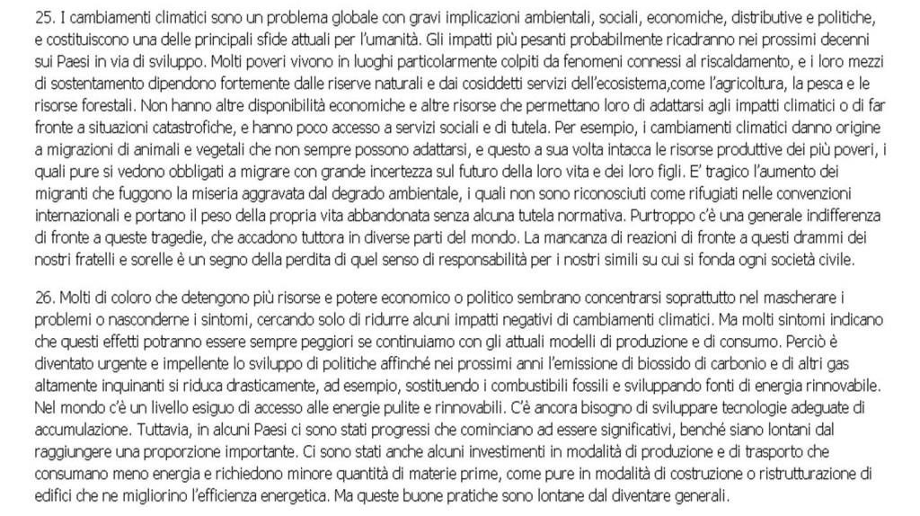 Lettera enciclica 'Laudato si'' del Santo Padre Francesco sulla cura della casa comune - 2