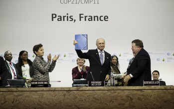 As COP21 climate summit reaches halfway point, with a new negotiating text and a ceremony to highlight role of cities