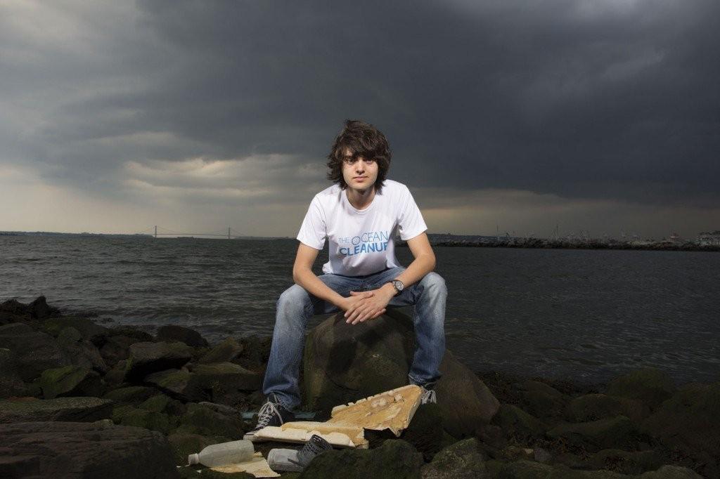 Boyan Slat, il ventenne che pulirà gli oceani dalla plastica