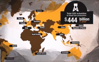 Global fossil fuel subsidies outpace renewable support