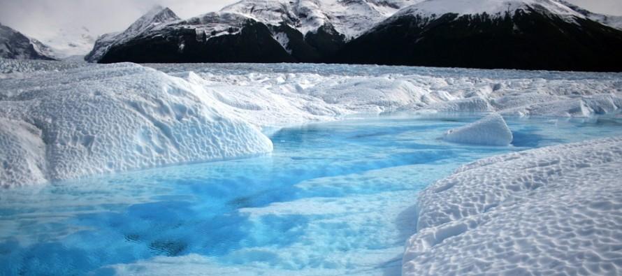 I cambiamenti climatici visti dal cielo dell'Antartide