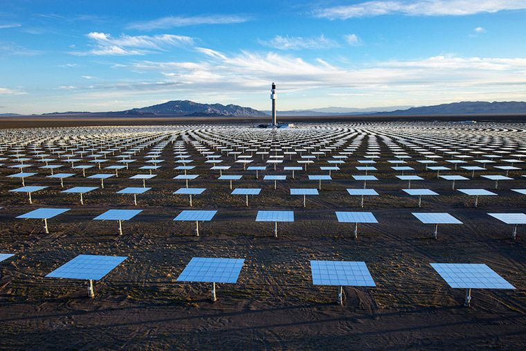 Worlds Largest Solar Project Would Generate Electricity  Hours A  Worlds Largest Solar Project Would Generate Electricity  Hours A Day  Power  Million Us Homes  Behind Energy