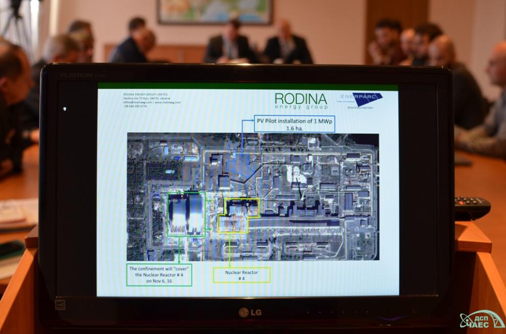 progetto della centrale fotovoltaica a chernobyl